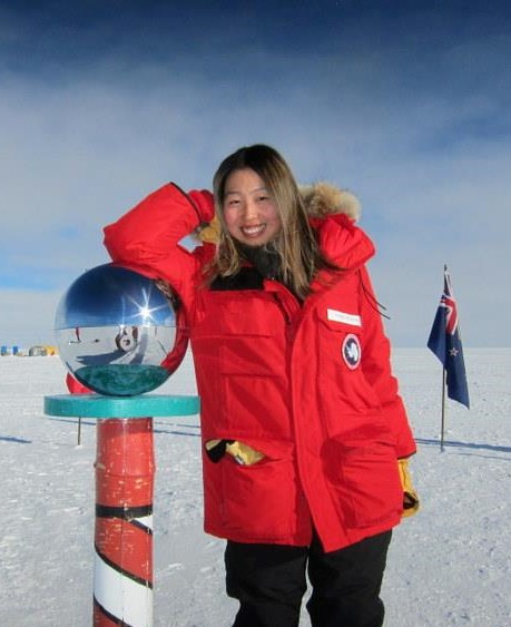 Naoko Kurahashi Neilson at the South Pole